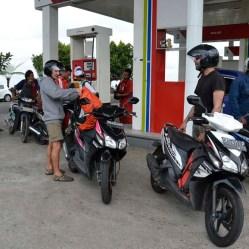 Repostando gasolina